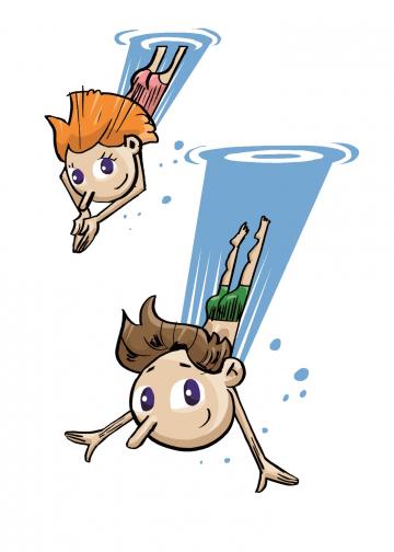 Diving Tim und Tina